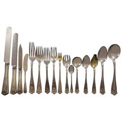 Winthrop by Tiffany & Co. Sterling Silver Flatware Set 12 Service 211 Pieces