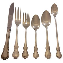 French Provincial by Towle Sterling Silver Flatware Set for 12 Service 89 Pieces