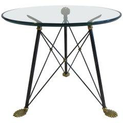 Regency Style Glass Table