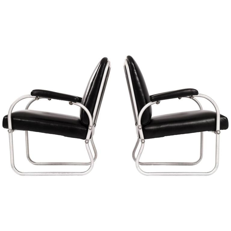 Pair of Namco Lounge Chairs