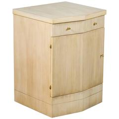 Paul Marra Pinnacle Nightstand in Bleached Douglas Fir