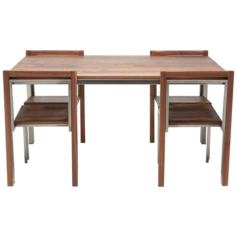 Dining Table And Buffet Set: Antique Italian Dining Room Set With Table, Chairs, Buffet