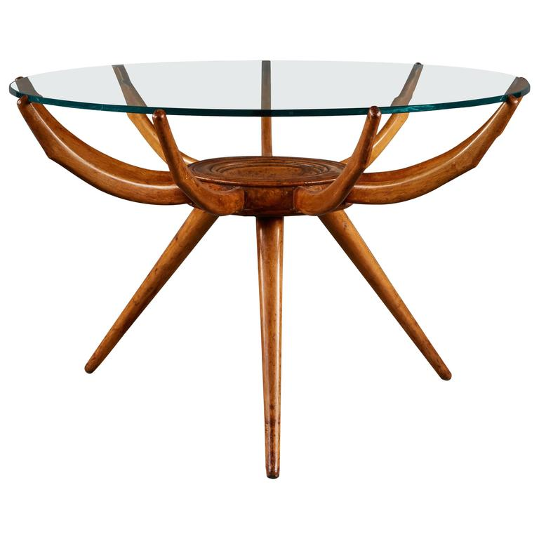"""Ragno"" Side Table by Carlo de Carli"
