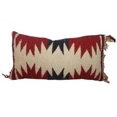 Geometric Navajo Weaving Lumbard Pillow
