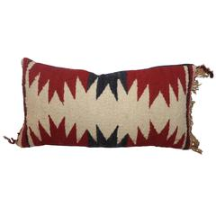 Geometric Navajo Weaving Lumbard Pillow