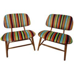 "Pair of ""TeVe-Chairs"" by Alf Svensson"