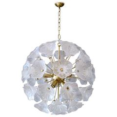 Murano Sputnik Chandelier Attributed to Venini