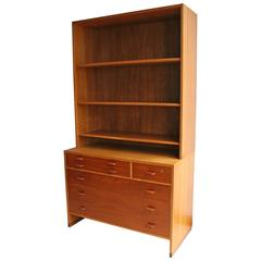 Borge Mogensen Chest of Drawers with Shelving Unit above