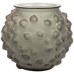 """""""Palissy"""" Vase by René Lalique, circa 1930"""