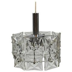 Modern Geometric Kinkeldey Two-Tier Round Hanging Light Fixture
