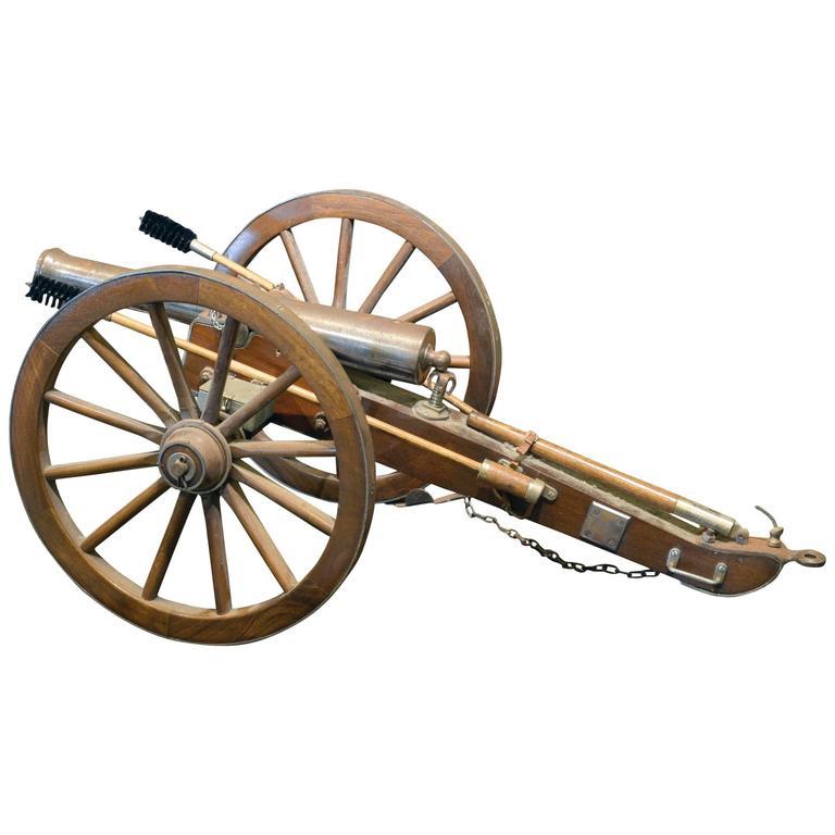 Scale Model of 19th Century Field Gun