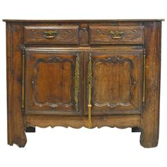 18th Century French Buffet in Walnut
