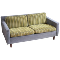 Mid-Century Modern Loveseat in the Style of Harvey Probber
