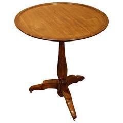 French Walnut Tilt-Top Table