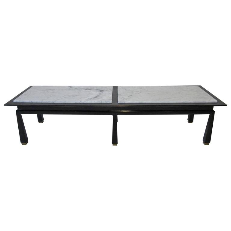 Harvey Probber Marble Topped Coffee Table For Sale At 1stdibs