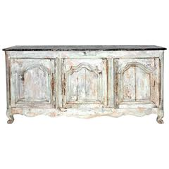Early 19th Century Painted French Buffet