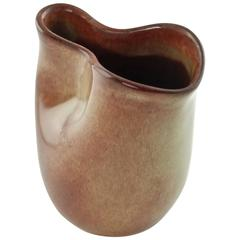 Mid-Century Modern Eugene Deutch Glazed Ceramic Pitcher