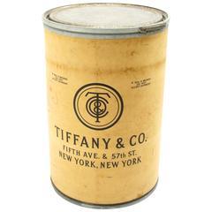 Tiffany & Company Shipping Barrel