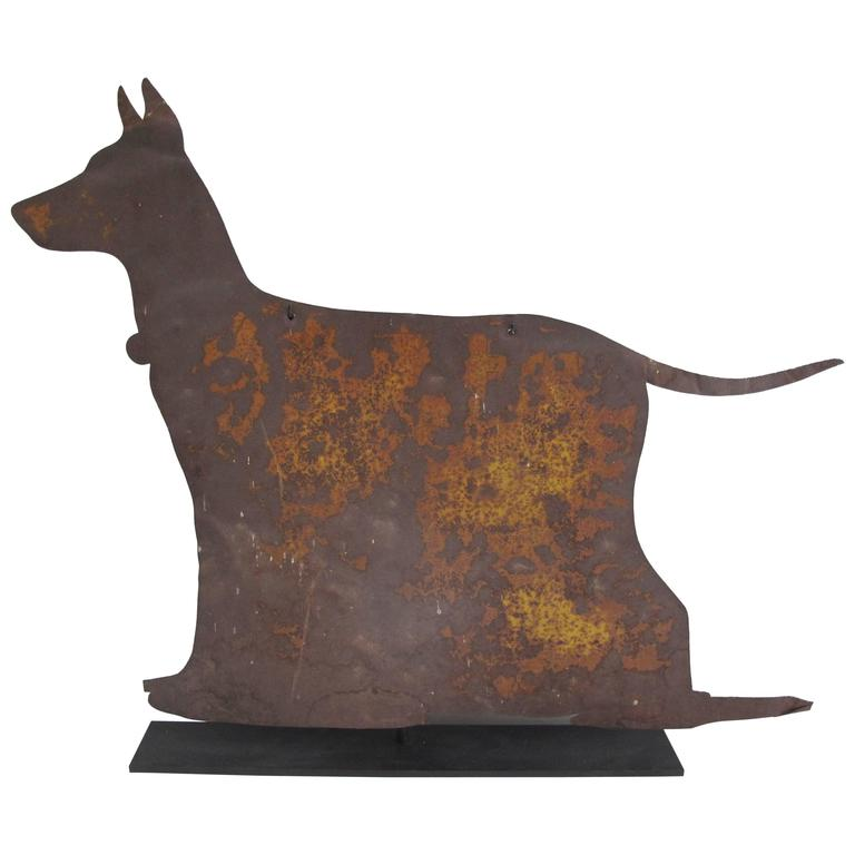 Sheet Metal Dog Breeder or Kennel Trade Sign