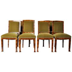 Set of Six Hungarian Dining Chairs