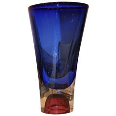 Göran Wärff for Kosta Boda Glass Vase
