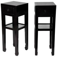 Pair of Chinese Tea Stands
