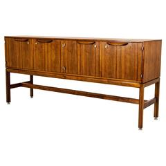 Mid-Century Modern Rosewood Credenza, Sideboard by Jens Rison, Denmark