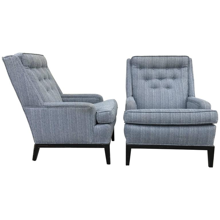 Pair of Club Chairs in the Manner of Edouard Wormley