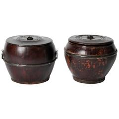 Chinese Pots with Lid