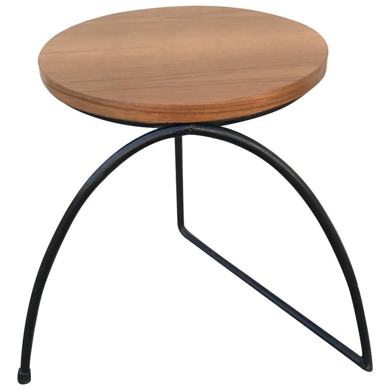 Californian Modernist  Side Table/Stool 1