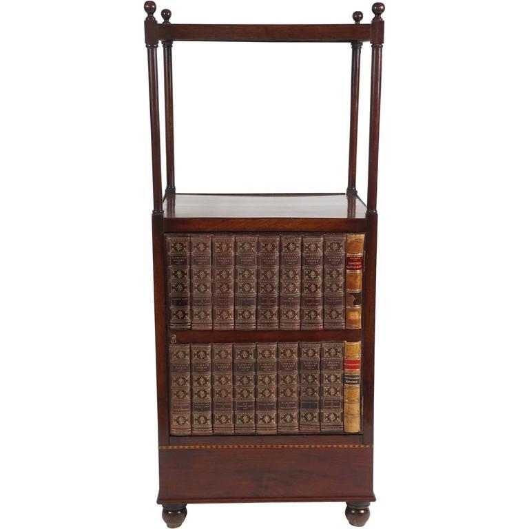 English Regency Period Mahogany Étagère or Library Stand, circa 1815