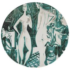 Decorative Plate by Robert Picault