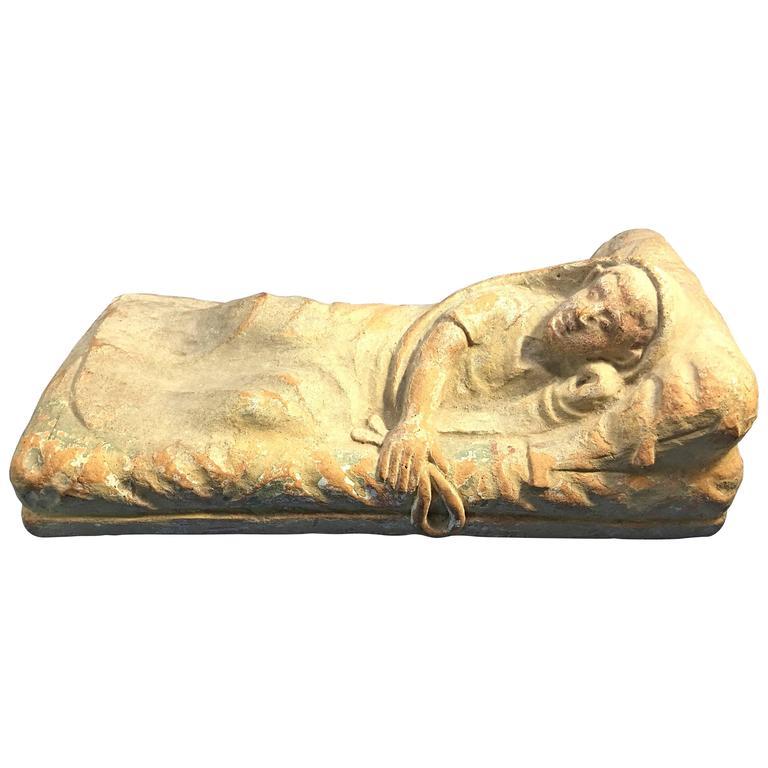 Rare Terracotta Sculpture of an Ancient Etruscan Reclining Figure 1  sc 1 st  1stDibs & Rare Terracotta Sculpture of an Ancient Etruscan Reclining Figure ... islam-shia.org