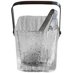 Hoya Glass Ice Bucket