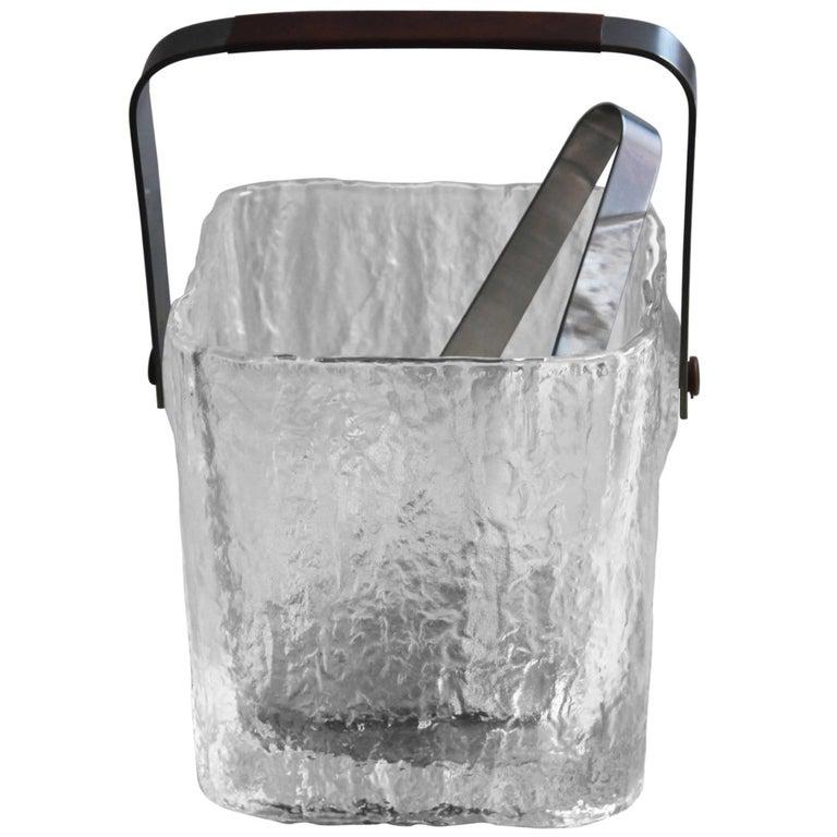 Hoya Glass Ice Bucket For Sale