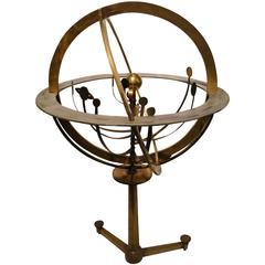 Fantastic Zodiac Armillary Sphere, Galaxy Globe, France