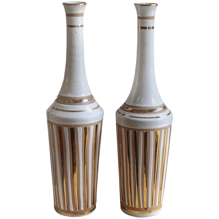 1970s Italian Pottery Vases For Sale