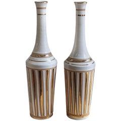 1970s Italian Pottery Vases