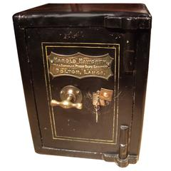 Small 19th Century Safe in Completely Original Condition