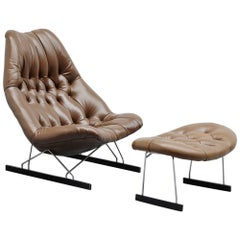 Geoffrey Harcourt F592 Lounge Chair Artifort, 1966