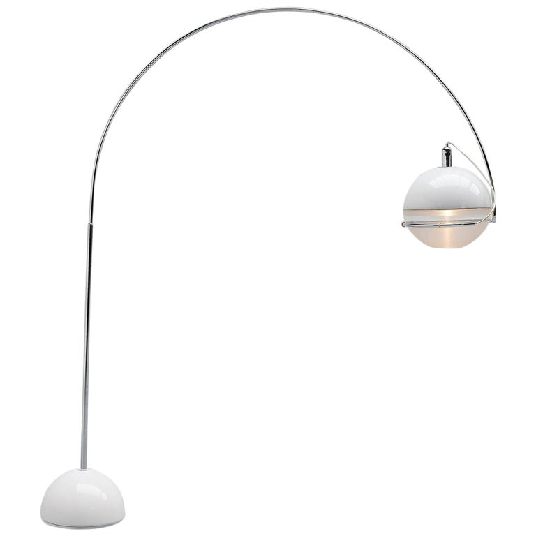 Fabio Lenci Guzzini Focus Floor Lamp, Italy, 1972 For Sale