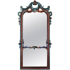 Rococo Floor Mirrors and Full-Length Mirrors - 17 For Sale at 1stdibs