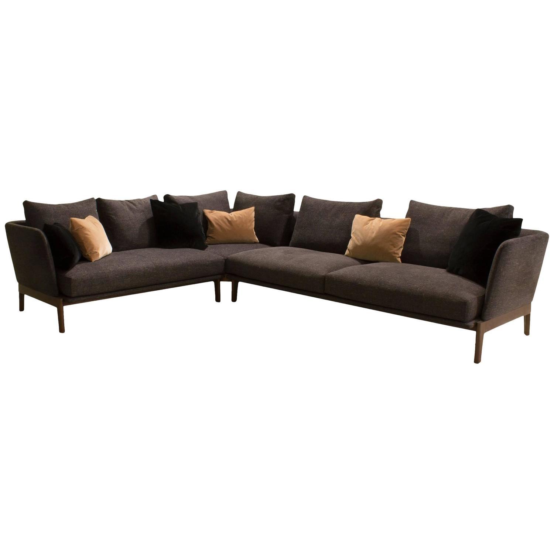 Sleek Sofas Sleek Three Seat Sofarodolfo Dordoni For Minotti At 1Stdibs