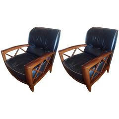 Pair of Pace Lounge Chairs