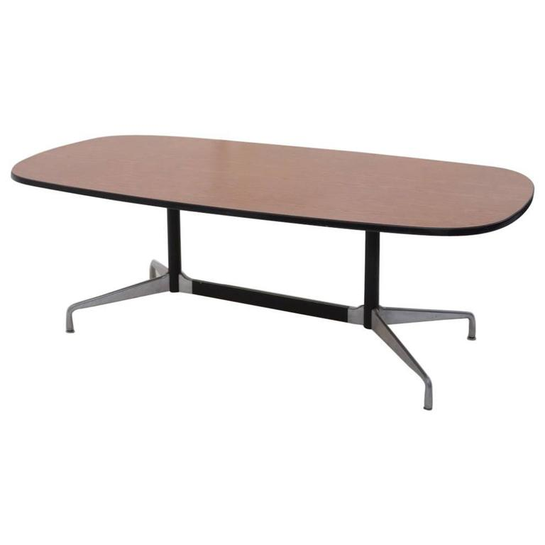 Herman Miller Eames Racetrack Dining Table