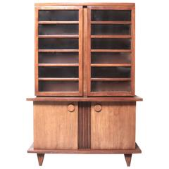 Mid-Century Modern China Cabinet by American of Martinsville