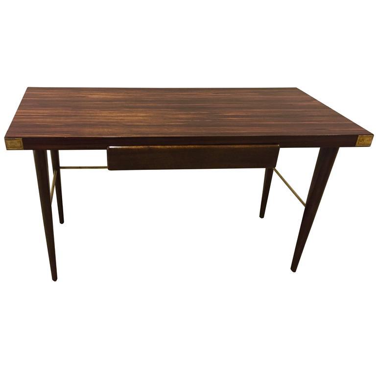 Tommi Parzinger Macassar Ebony Desk For Sale