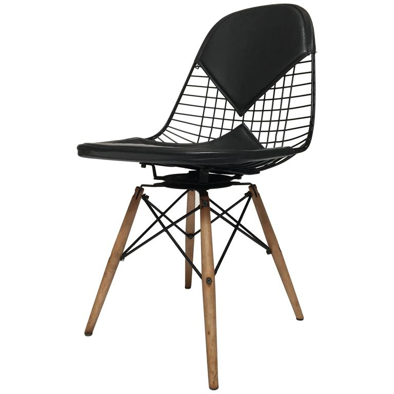 Eames pkw 2 Bikini Swivel Dowel Base Chair for Herman  : 6637213l from www.1stdibs.com size 768 x 768 jpeg 33kB