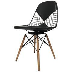 Eames pkw-2 Bikini Swivel Dowel Base Chair for Herman Miller