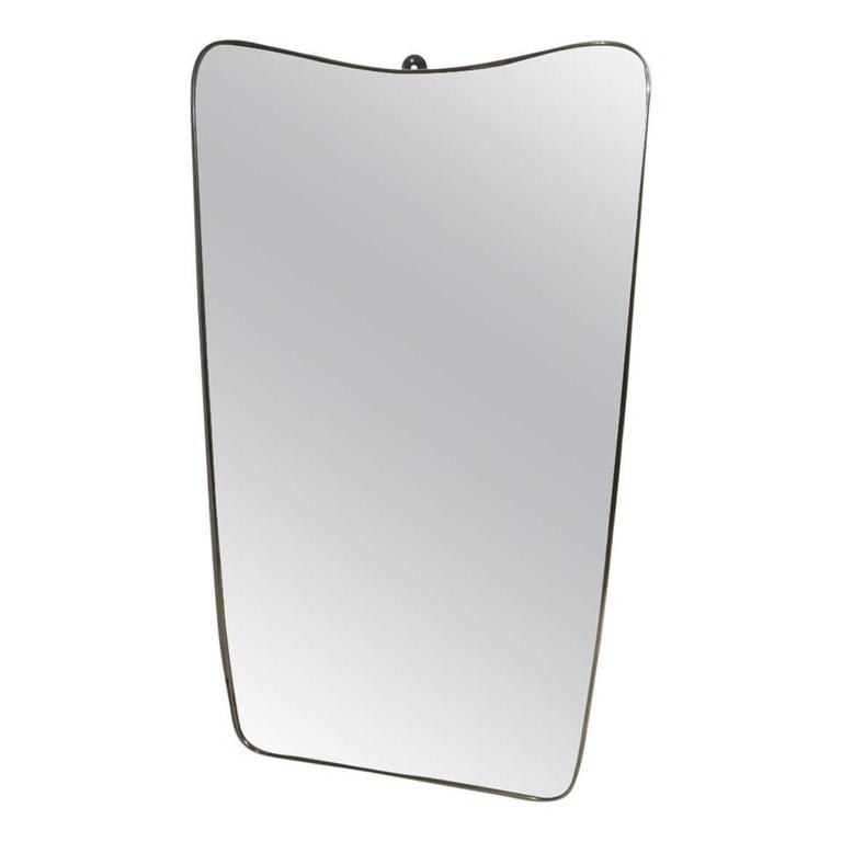 Large Mirror Mid-Century Italian Modern and Contemporary Design